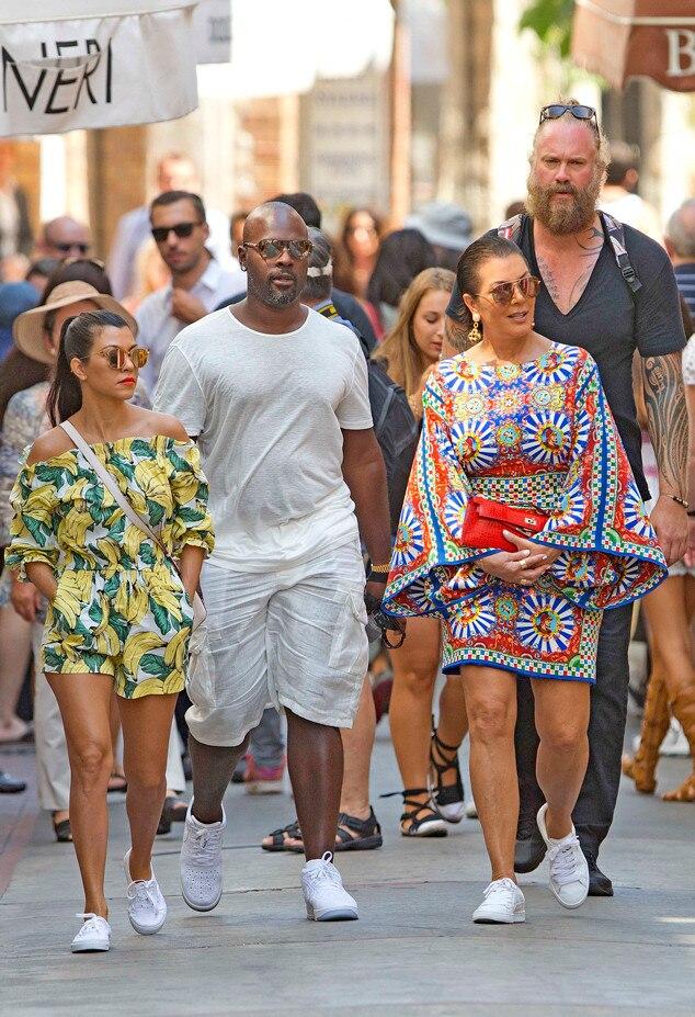Kourtney Kardashian, Kris Jenner, Corey Gamble