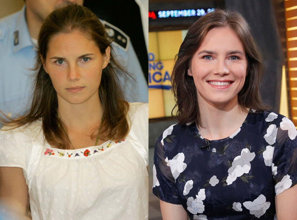 Amanda Knox, Amanda Knox Trial, Then and Now