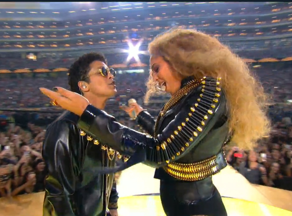 Beyonce, Coldplay, Bruno Mars, Super Bowl halftime show 2016