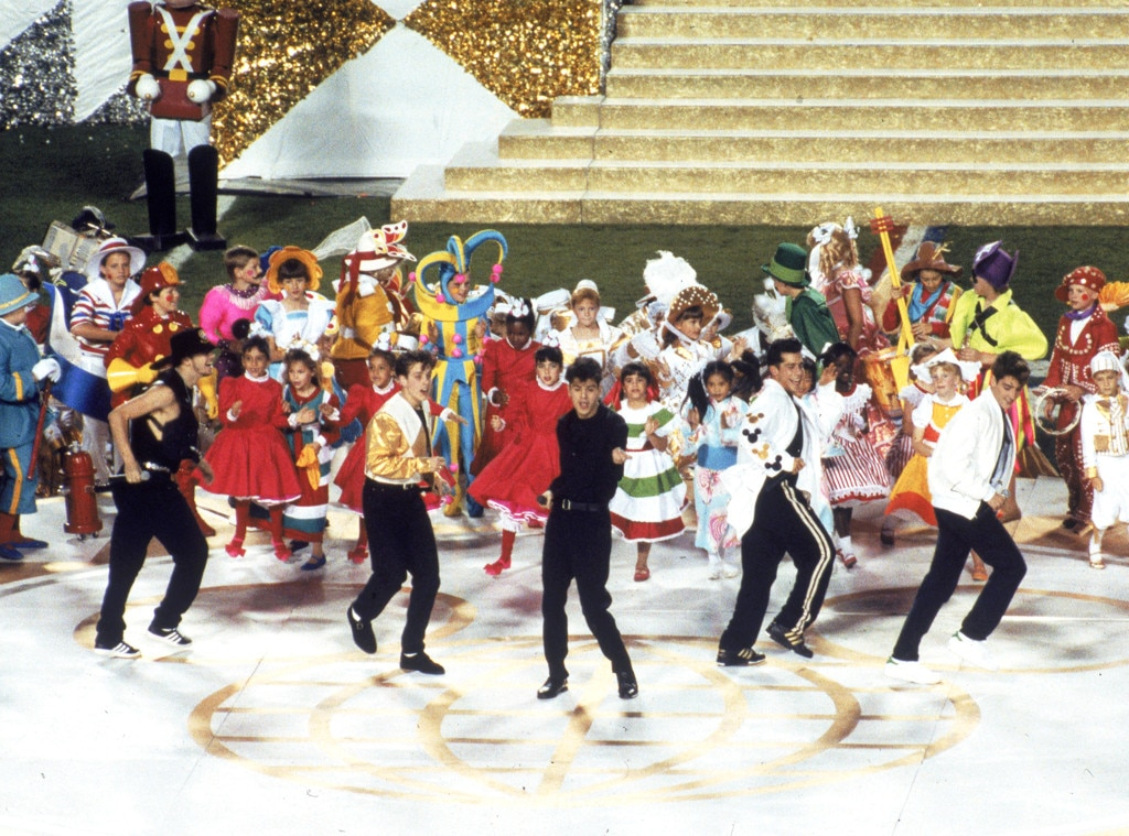 New Kids On The Block, Super Bowl, 1991