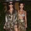 Kim Kardashian, Kourtney Kardashian, Balmain