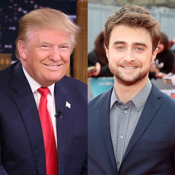 Donald Trump, Daniel Radcliffe
