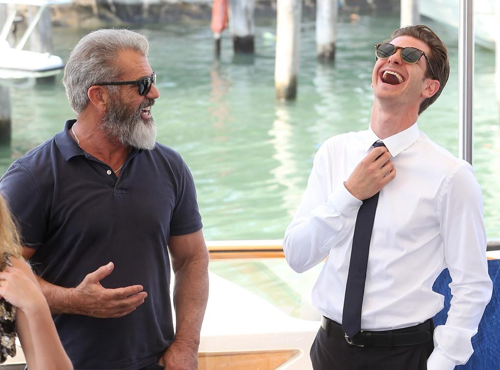 Mel Gibson, Andrew Garfield, Venice Film Festival