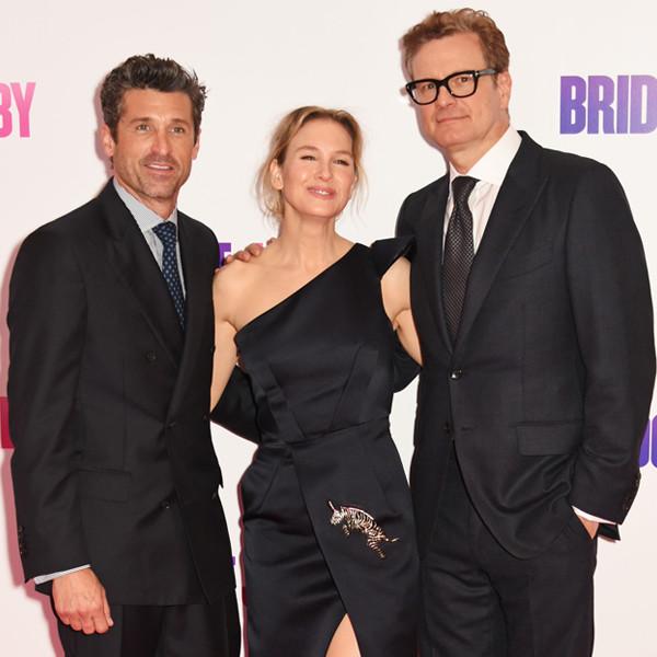 Patrick Dempsey, Renee Zellweger, Colin Firth