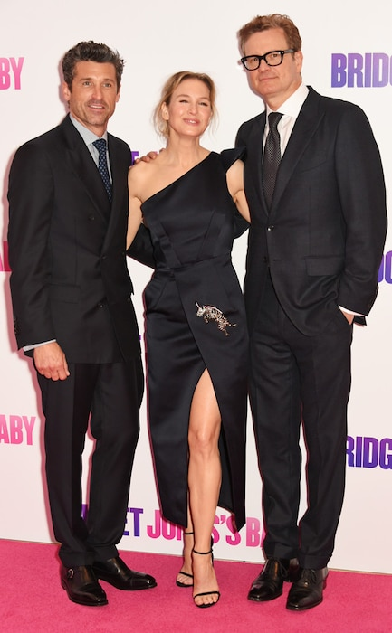 Patrick Dempsey, Renee Zellweger, Colin Firth