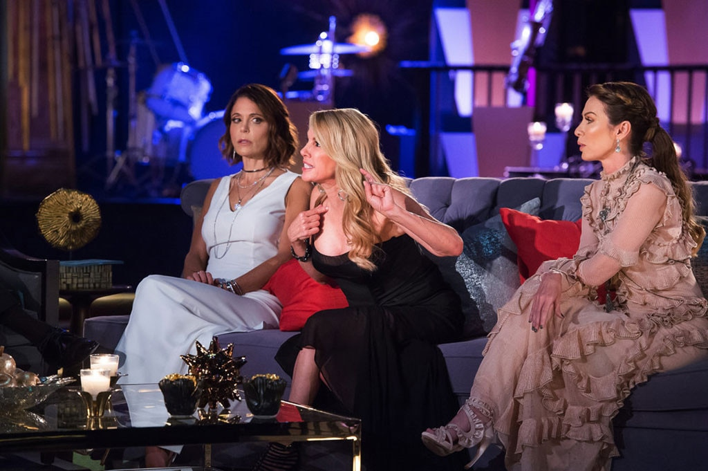 The RHONY Cast Stuck On A Cruise From Hell
