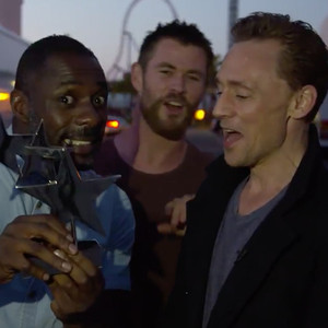 Tom Hiddleston, Idris Elba, Chris Hemsworth