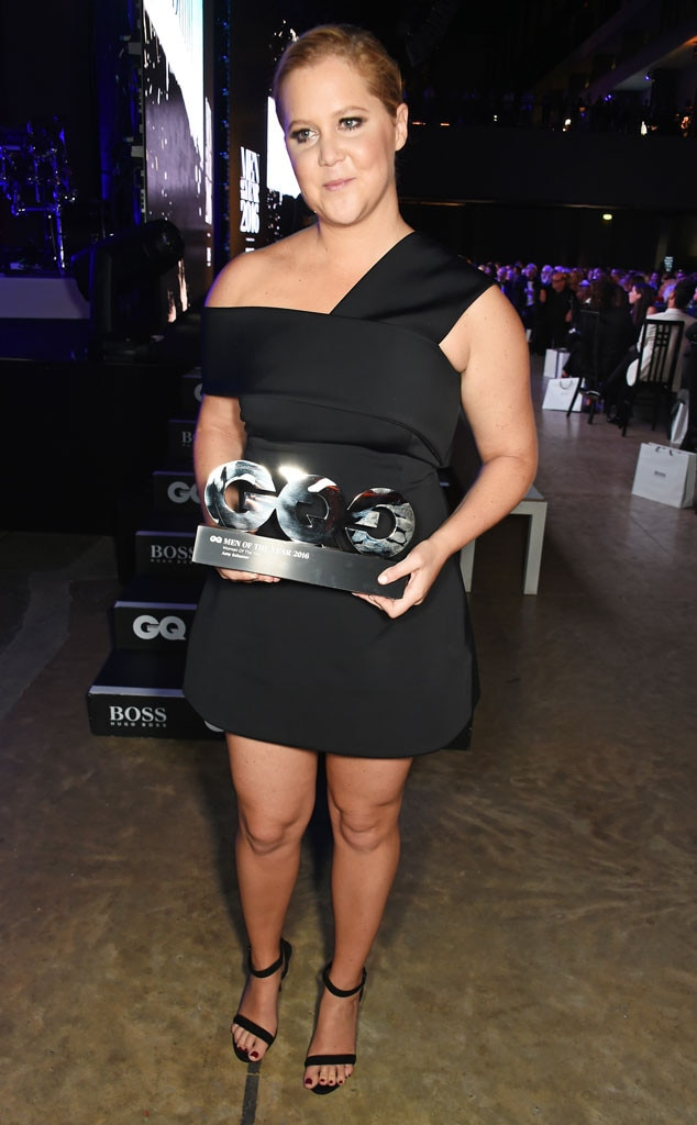 Amy Schumer, GQ Men of the Year Awards, Winner