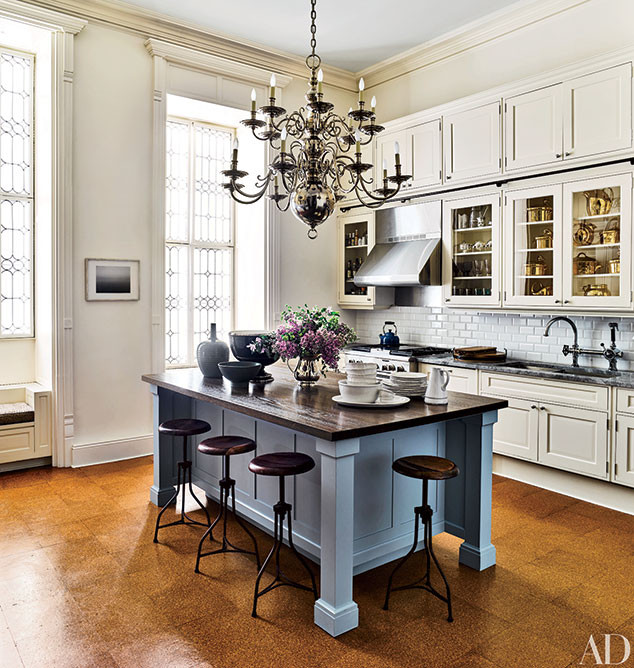 Jessica Chastain, Architectural Digest, New York City Apartment