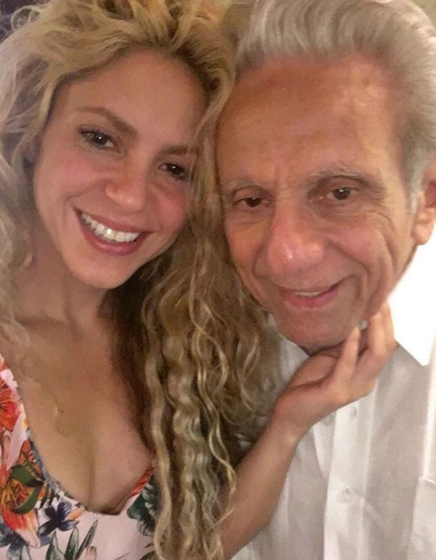 Shakira, Dad, Instagram
