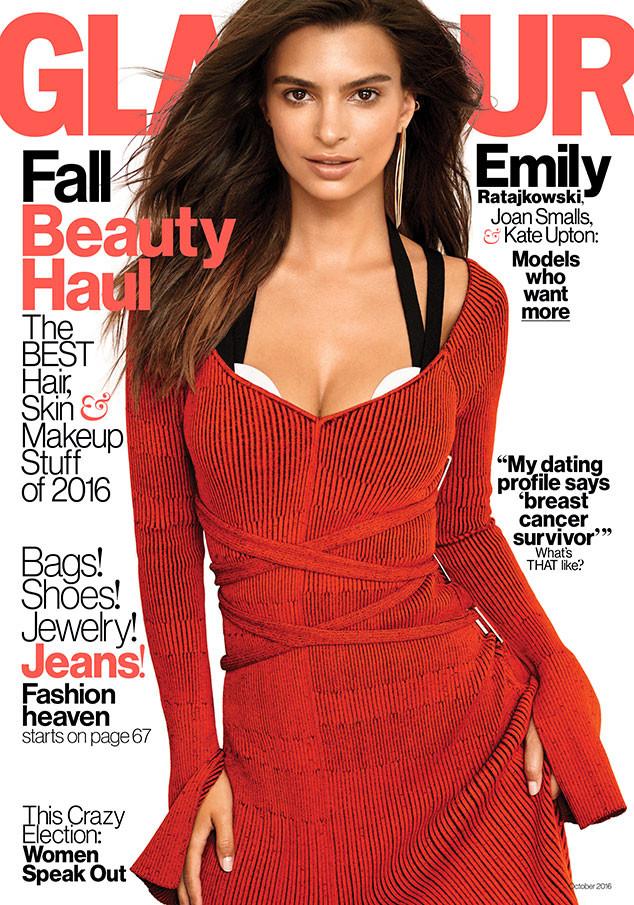 Emily Ratajkowski, Glamour Magazine, October