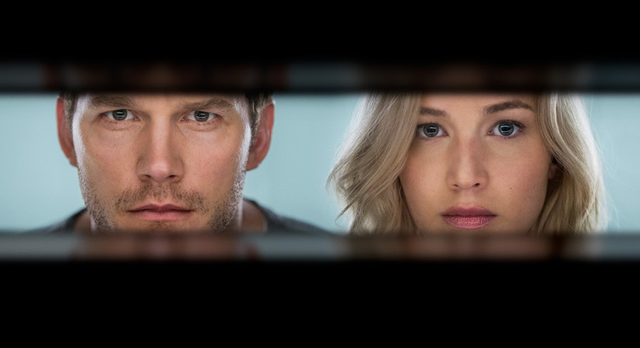 Chris Pratt, Jennifer Lawrence, Passengers