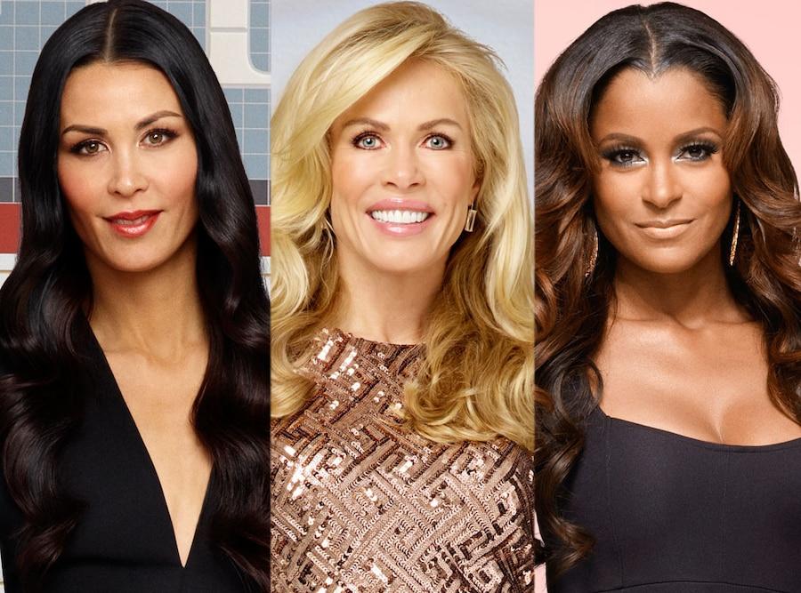Kathryn Edwards, Jules Wainstein, Claudia Jordan, Real Housewives