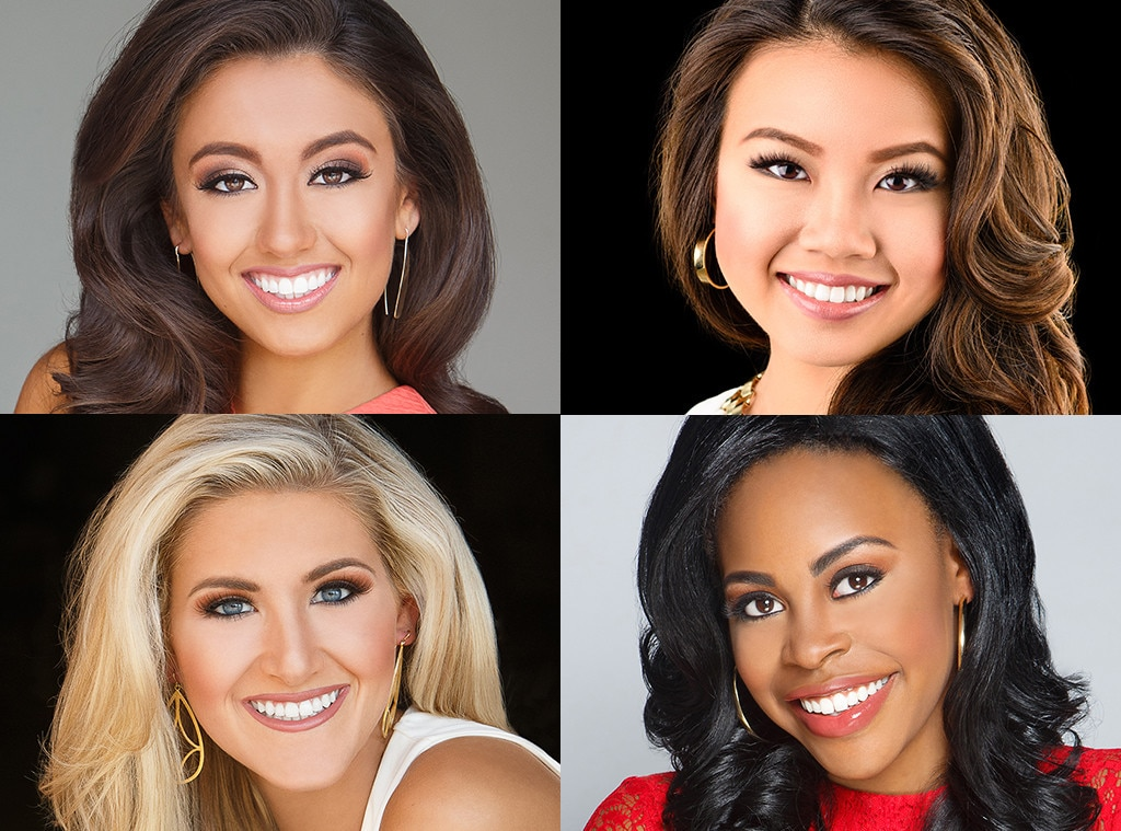 Miss America 2017, Miss Georgia, Miss Louisiana, Miss Mississippi, Miss New York