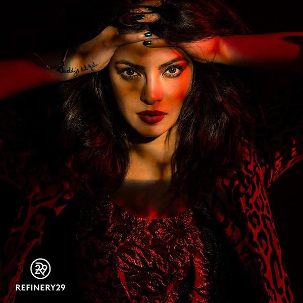 Priyanka Chopra, Refinery29
