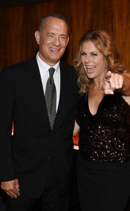 Tom Hanks, Rita Wilson, NYFW