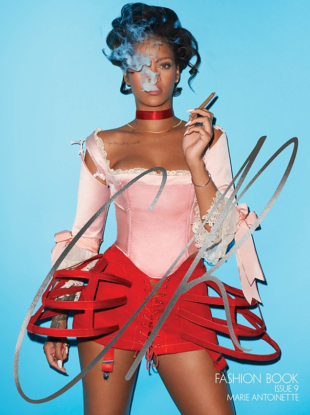 Rihanna, CR Fashion Book