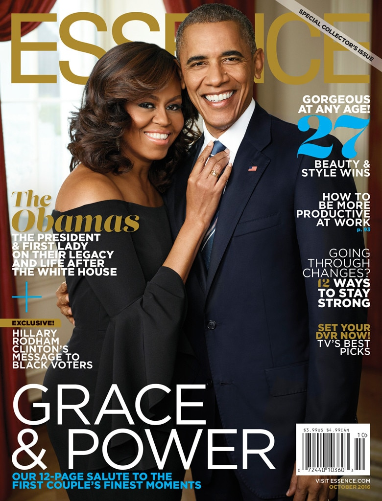 President Barack Obama, Michelle Obama, Essence
