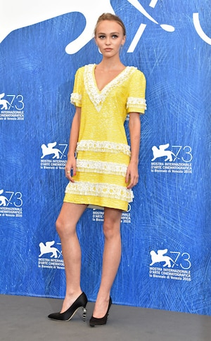 Lily-Rose Depp, Venice Film Festival