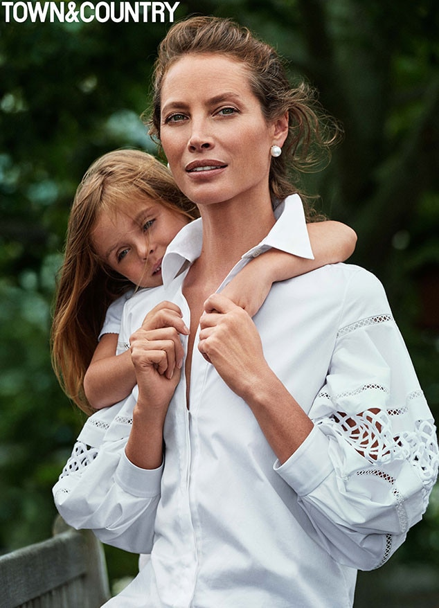Christy Turlington, Town & Country, October Issue