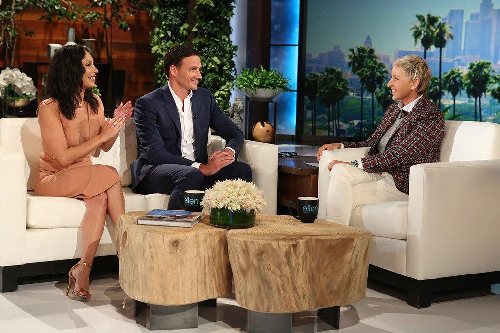 Ryan Lochte, Ellen DeGeneres, Cheryl Burke