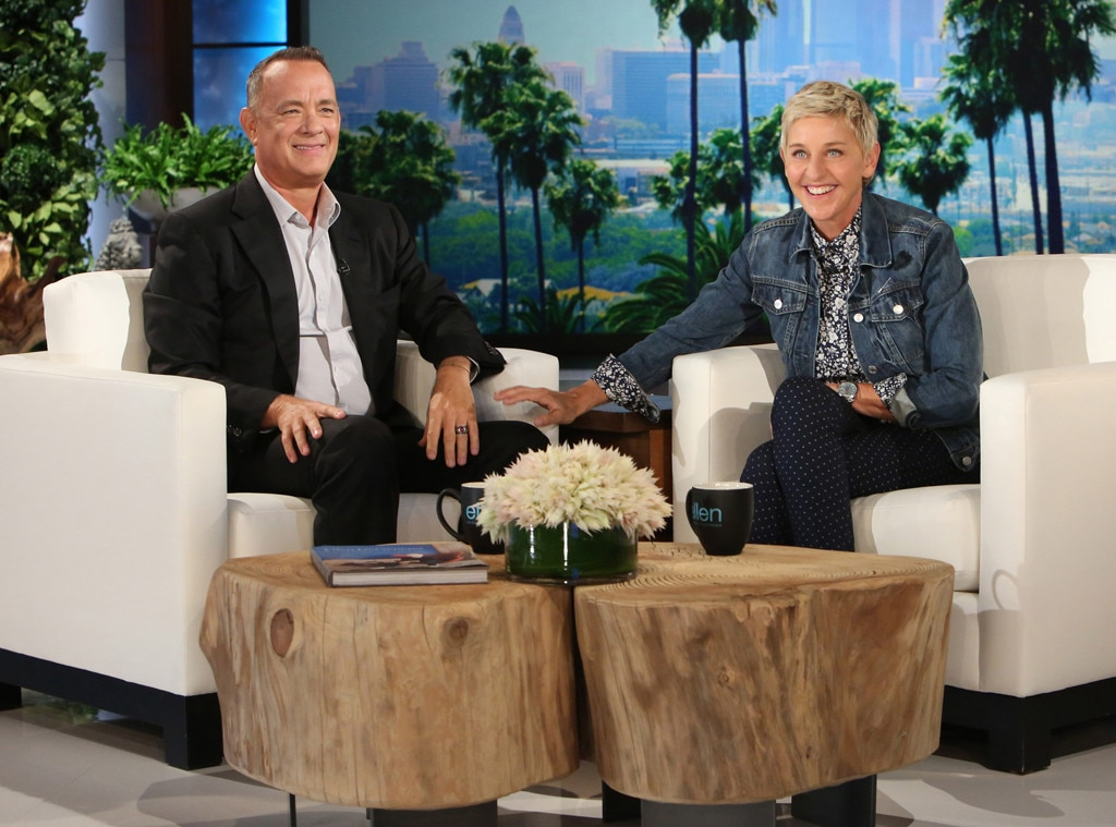 Tom Hanks, Ellen Degeneres Show