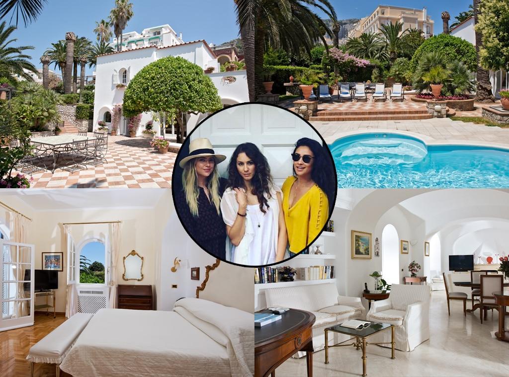 Troian Bellasario, Shay Mitchell, Ashley Benson, Airbnb