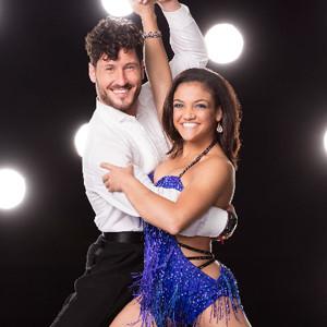 Laurie Hernandez, Val Chmerkovskiy, Dancing With the Stars Season 23