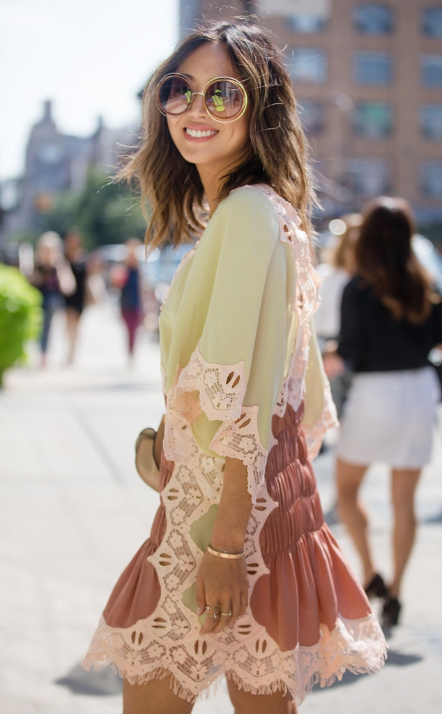 Aimee Song From Street Style At New York Fashion Week Spring 2017 E News