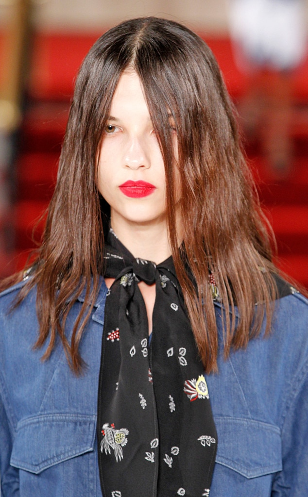 ... from Hot Hair Trends at New York Fashion Week Spring 2017 E! News