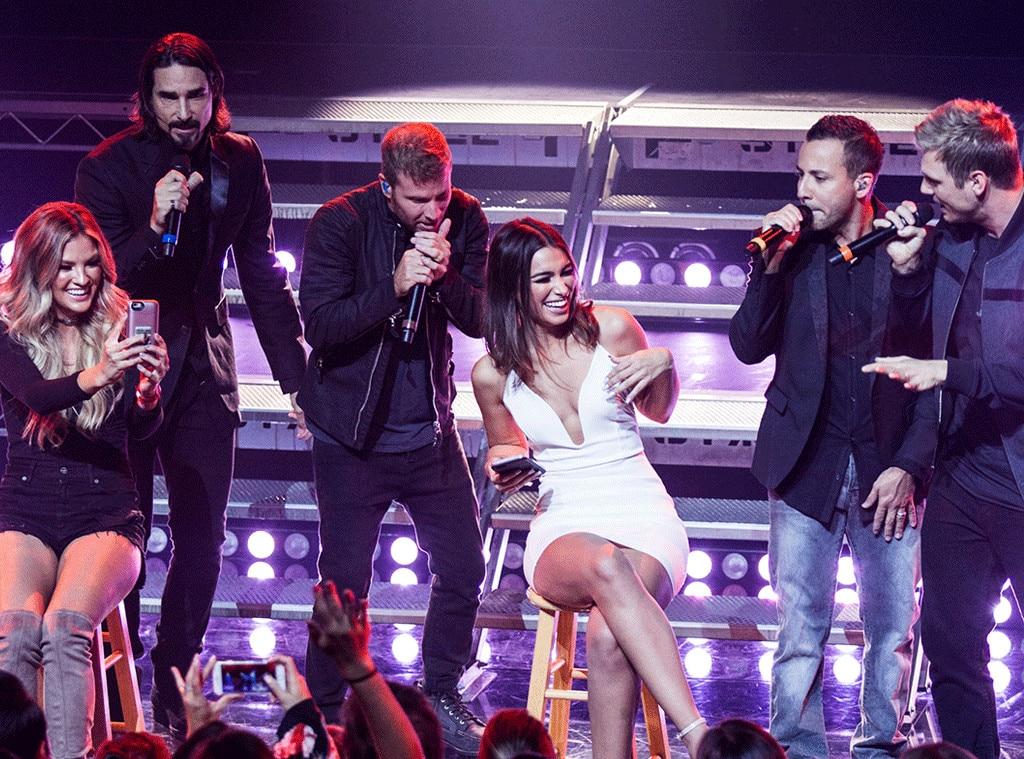 Backstreet Boys From Musicians Performing Live On Stage