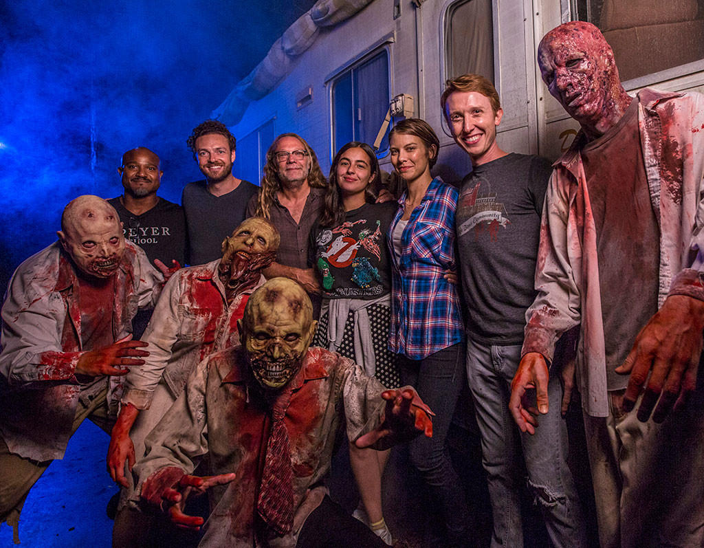 The Walking Dead Cast from Stars Celebrate Halloween 2016 ...