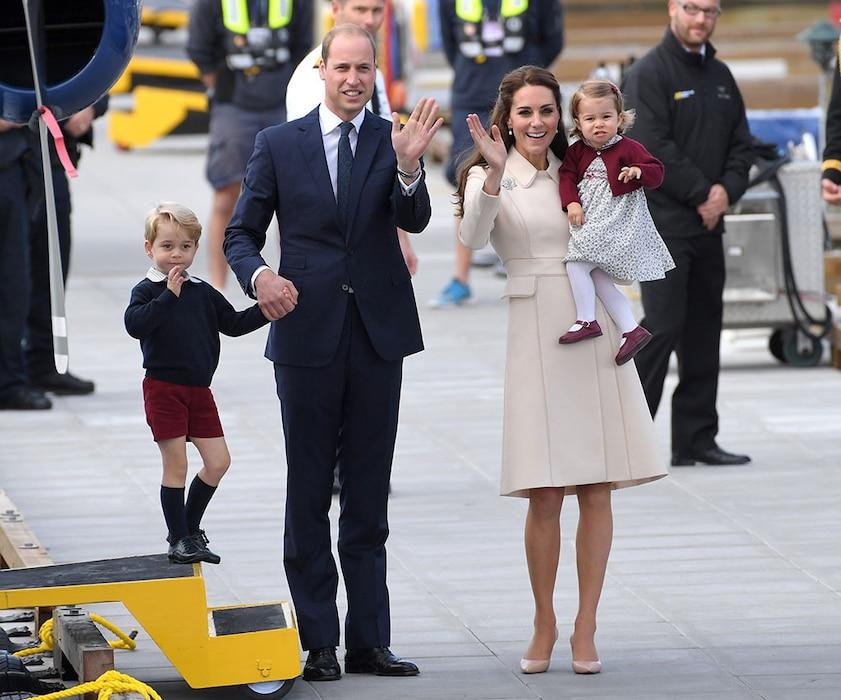 Prince William, Kate Middleton, Prince George, Princess Charlotte, Canada