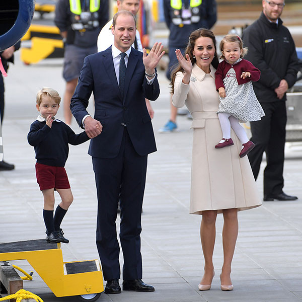 Prince William, Kate Middleton, Prince George, Princess Charlotte, Canada