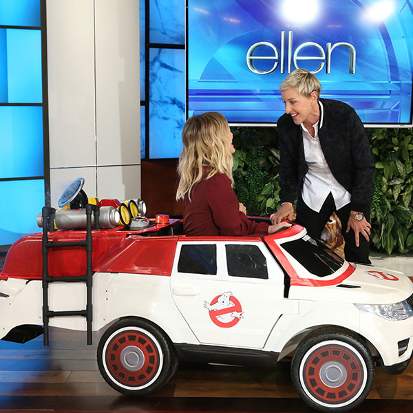 Hilary Duff, Ellen DeGeneres, Ghostbusters