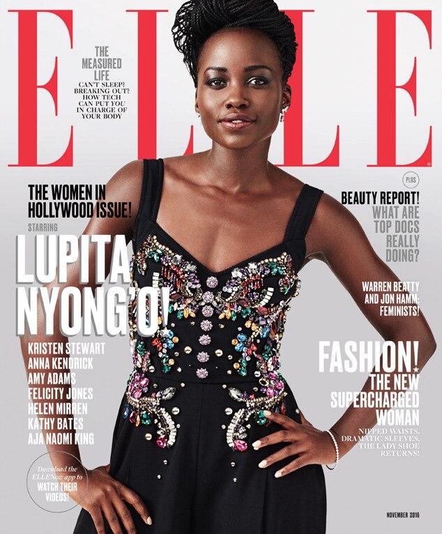 Lupita Nyong'o, Elle