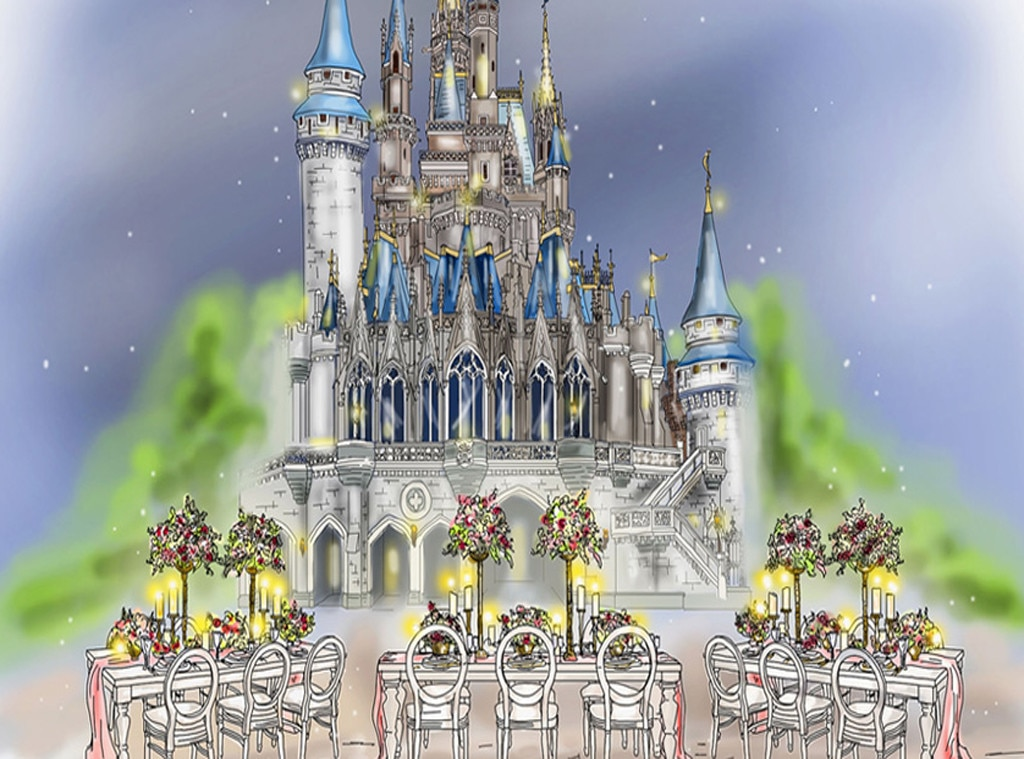 Disney Wedding, After Dark