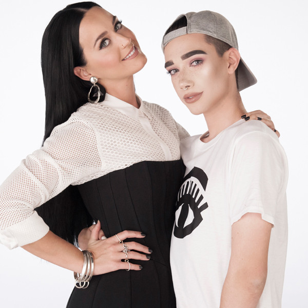 Katy Perry, James Charles, CoverGirl