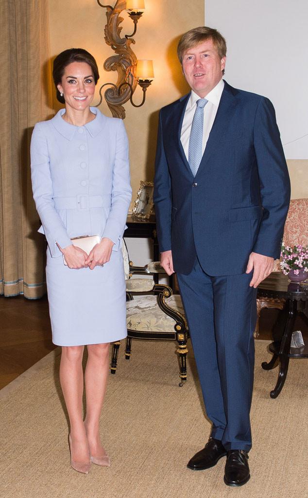 Catherine, Duchess of Cambridge, Kate Middleton, King Willem Alexander