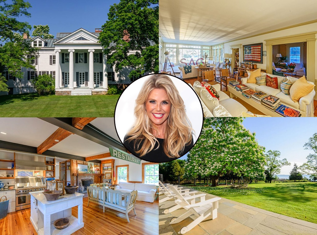 Christie Brinkley, Hamptons Home