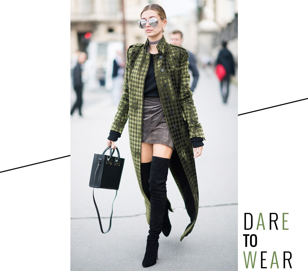 ESC: Hailey Baldwin, Dare to Wear