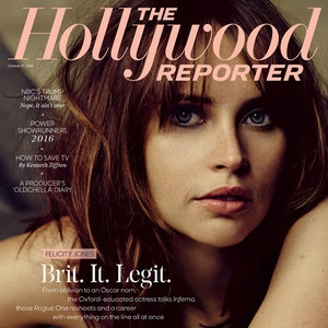 Felicity Jones, The Hollywood Reporter