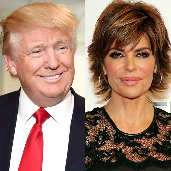 Donald Trump, Marlee Matlin, Lisa Rinna