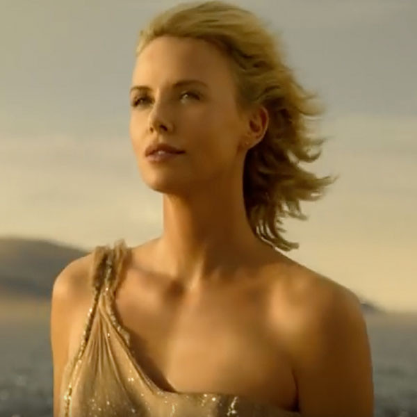 Charlize Theron, J'Adore Dior Commercial
