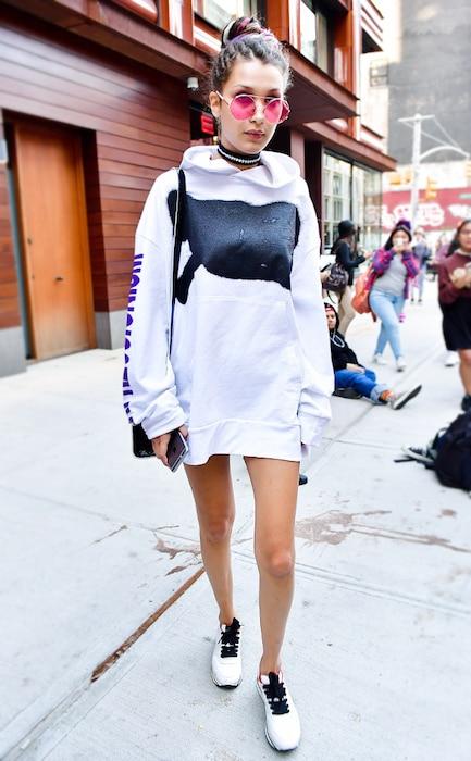 ESC: Bella Hadid, 1990's Style