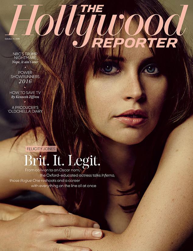 Felicity Jones, The Hollywood Reporter