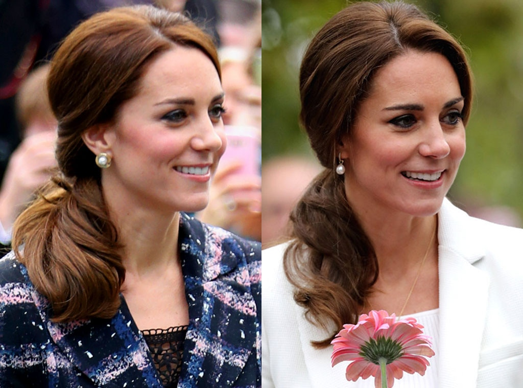 Outstanding All The Different Hairstyles Kate Middleton Tried In 2016 So Far Short Hairstyles For Black Women Fulllsitofus