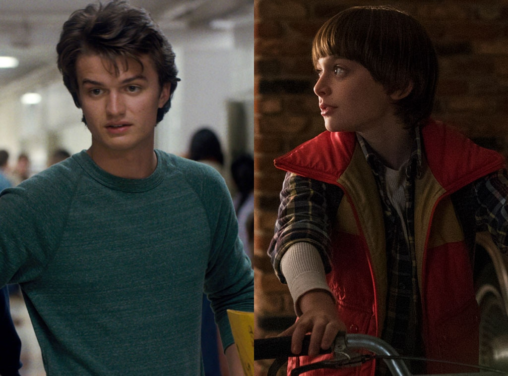 Joe Keery, Noah Schnapp, Stranger Things