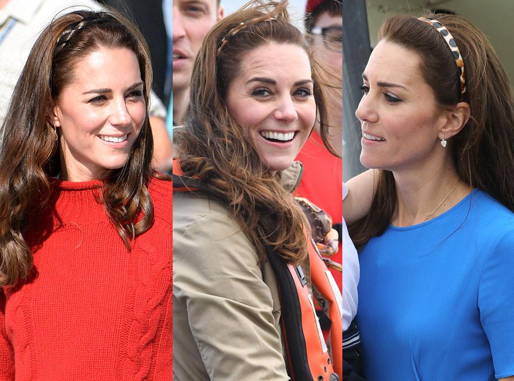 Kate Middleton, Hair, Headband