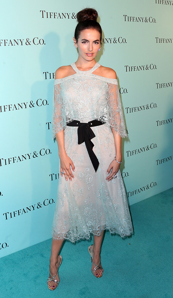 Camilla Belle, Tiffany And Co. Unveiling